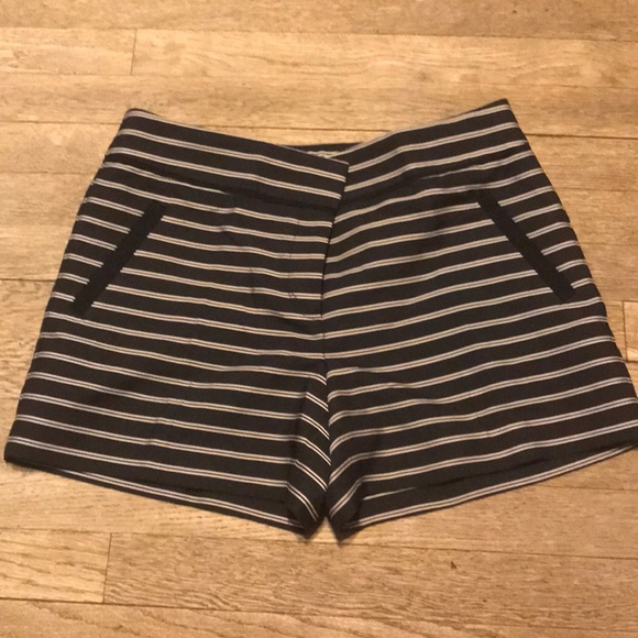 LOFT Pants - Ann Taylor Riviera Striped Shorts